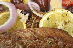 Makrelenleiste Stockfotografie