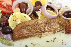Makrelenleiste Stockbilder
