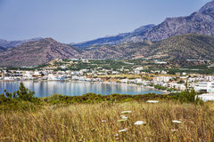 Makrigialos Crete Royalty Free Stock Photography
