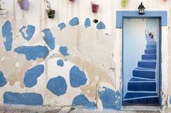 Makrigialos Doorway Stock Image