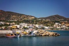Makrigialos wioska Crete fotografia stock