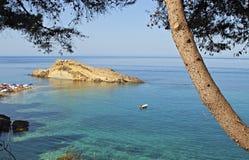 makris kefalonia της Ελλάδας gialos παραλι Στοκ Φωτογραφίες