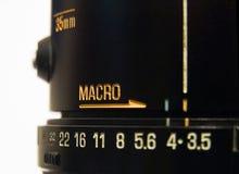 makro Fotografia Stock