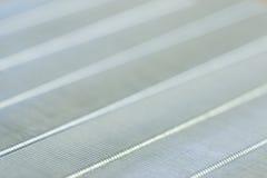 makro abstrakcyjna metal powierzchni Zdjęcie Royalty Free