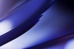 Makro abstrakt begrepp, bakgrundsbild av blått papper på pappers- bakgrund Arkivfoto