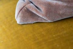 Makro- antykwarski meble - rocznika meblarski szczegół Obrazy Royalty Free