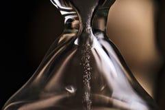 Makro av ett timglas Royaltyfri Fotografi