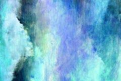 Makro av målningen, blåttabstrakt begrepp royaltyfria bilder
