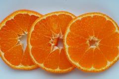 Makro av mandarinen Royaltyfri Bild