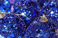 makro- Boże Narodzenie ornament Obraz Stock