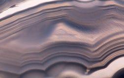 Makro- ciemnego brązu agata struktura Zdjęcie Stock