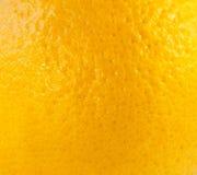 Makro der orange Fruchtbeschaffenheit Lizenzfreies Stockbild