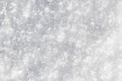 Makro der Schnee-Beschaffenheit Lizenzfreies Stockfoto