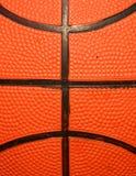 Makro des Basketballs stockbild