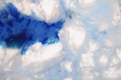 Makro des blauen Achatsteins Stockbild