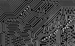 Makro des Computervorstands stockbild