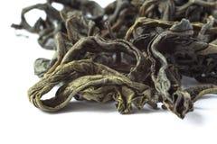 Makro des grünen Tees Stockfotografie