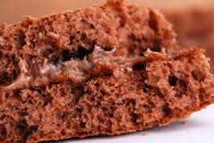 Makro des Kuchens, Beschaffenheit Lizenzfreie Stockfotografie