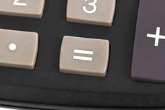 Makro des Taschenrechners Stockbild