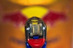 Makro ein Feuerzeug lizenzfreie stockfotografie