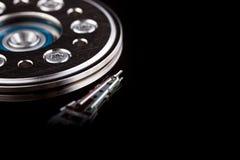 Dunkles HDD Makro stockfoto