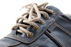 Makro eines Schuhes Lizenzfreie Stockfotos