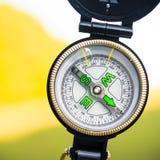 Makro- fotografia magnesowy kompas Obraz Stock