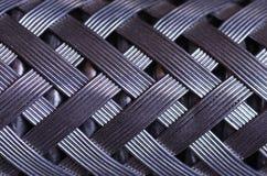 Makro- Galonowy drutu Wąż elastyczny Zdjęcia Royalty Free