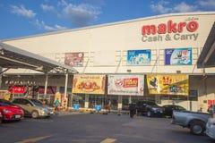 Makro-Grossmarkt Hangdong Chiang Mai Stockfotos