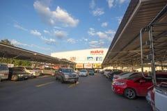 Makro-Grossmarkt Hangdong Chiang Mai Lizenzfreies Stockbild