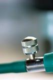 makro- gumy śruby tubka Fotografia Royalty Free