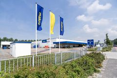 Makro cash & carry market in Bevewijk, Netherlands stock photography