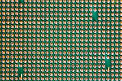 makro- jednostka centralna procesor Zdjęcie Royalty Free