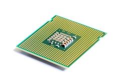makro- jednostka centralna procesor Zdjęcie Stock