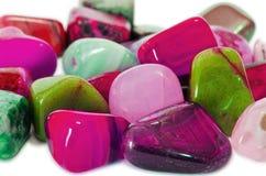 Makro- kolorowi Kamienie () Obraz Royalty Free