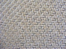 Makro- naturalny textured burlap hessian tekstury kawy parciany worek Obraz Royalty Free