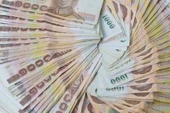 Makro- pieniądze tło Zdjęcia Stock