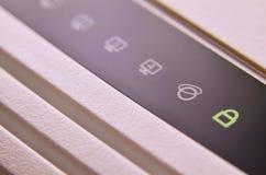 Makro- strzał interneta modem obrazy stock