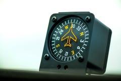 Makro- strzał kompas obraz stock