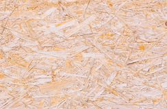 Makro- strzał drewniany chipboard Fotografia Stock