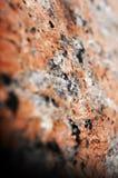 Makro- tekstura granit, miękka ostrość Obrazy Royalty Free