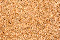 Makro- tekstura plażowy piasek Obrazy Stock