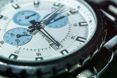 Makro- wristwatch Fotografia Royalty Free