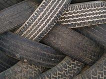 Makrobeschaffenheit - industriell - Gummireifen Lizenzfreies Stockfoto