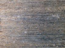 Makrobeschaffenheit - Metall - gestreift Lizenzfreie Stockbilder