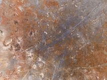Makrobeschaffenheit - Metall - verrostet Lizenzfreie Stockfotografie