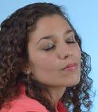 Makrobild mit Fokus auf den dog´s riechen, flacher dof Stockfotos