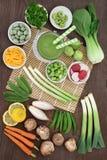 Makrobiotycznej diety jedzenia wybór zdjęcie royalty free