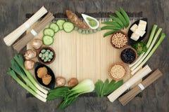 Makrobiotycznej diety jedzenie zdjęcia stock