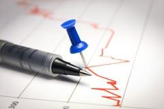 Makrodiagramm Stockfotografie
